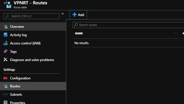 Azure Nva Routing